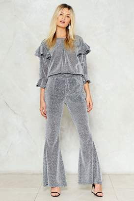Nasty Gal Are We Sheer On This Flare Pants