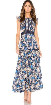 Rebecca Taylor Gigi Midi Dress $595 thestylecure.com