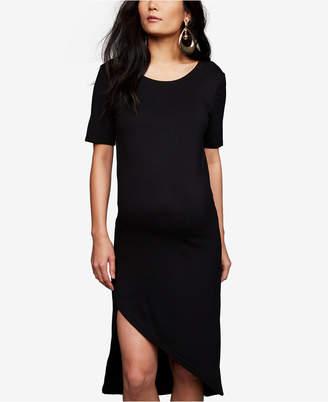 BB Dakota Maternity Asymmetrical Dress