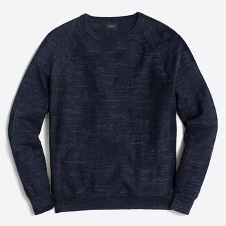 J.Crew Textured cotton crewneck sweater