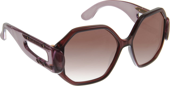 Balenciaga Geometric Sunglasses