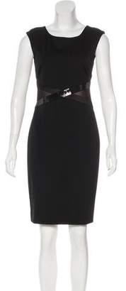 Halston Embellished Sheath Dress