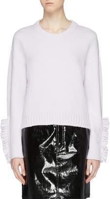 Philosophy di Lorenzo Serafini Ruffle cuff sweater