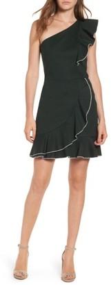 Women's Parker Layla One-Shoulder Dress $298 thestylecure.com