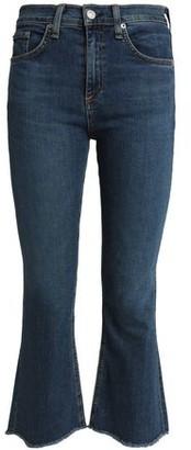 Rag & Bone Distressed Mid-Rise Kick-Flare Jeans