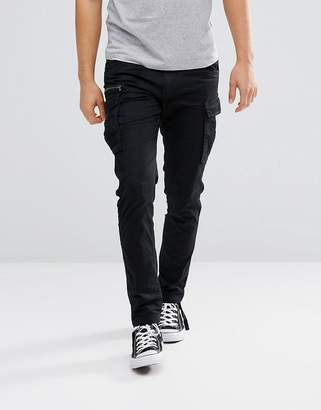 Jack and Jones Intelligence cargo PANTS with drawstring leg