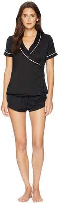 BLUEBELLA Kara Shirt and Shorts Pajama Set Women's Pajama Sets