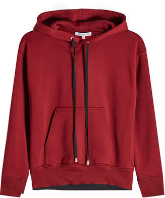 Helmut Lang Shrunken Hoodie with Cotton