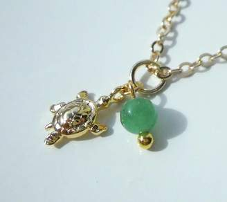 LaBelle et la Bete Turtle Necklace