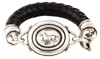 Kieselstein-Cord Leather Horse Bracelet