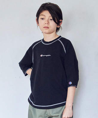 Champion (チャンピオン) - 【ジュニア】〔別注〕CHAMPION(チャンピオン)ラグランスリーブT