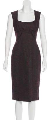 Zac Posen Sleeveless Midi Dress