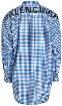 Balenciaga New Swing Printed Shirt
