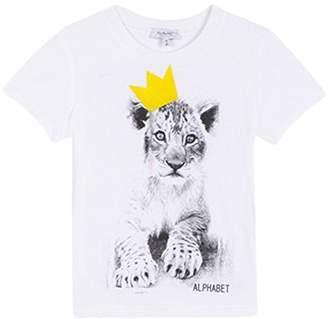 Alphabet Boy's TS Ludique T-Shirt