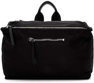 Givenchy Black Twill Pandora Messenger Bag