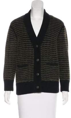 Rag & Bone Striped Knit Cardigan