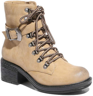Two Lips 2 Lips Too Womens Rational Combat Boots Zip