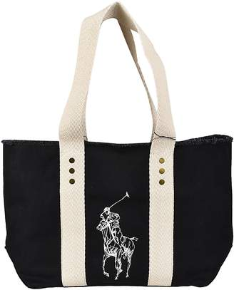 Polo Ralph Lauren Frayed Edges Tote