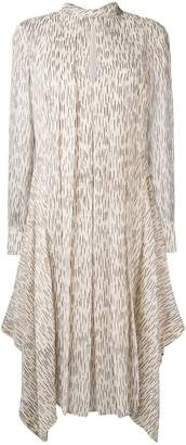 Chloé printed asymmetric dress
