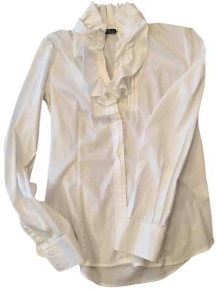Brooksfield White Cotton Top for Women