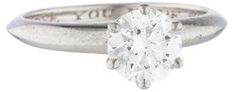 Tiffany & Co. Diamond Solitaire Engagement Ring $5,995 thestylecure.com