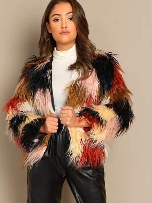 8a442a30ad Colored Faux Fur Coats - ShopStyle