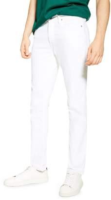 Topman White Slim Jeans