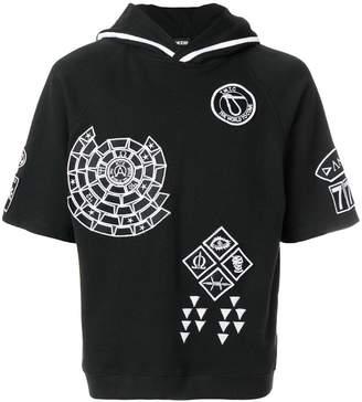 Kokon To Zai embroidered hoodie