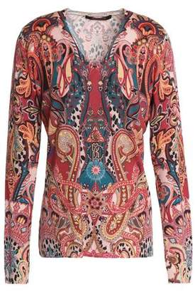 Roberto Cavalli Wool Cashmere And Silk-Blend Sweater