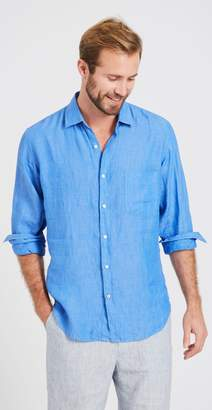 J.Mclaughlin Gramercy Regular Fit Linen Shirt