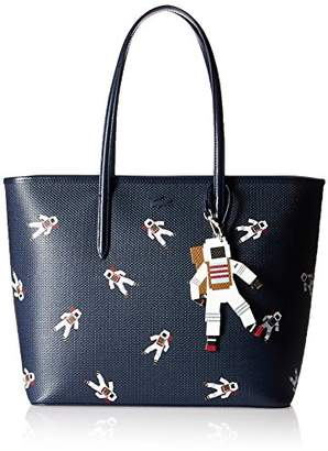 Lacoste Chantaco Fantasy Zip Shopping Bag with Charm