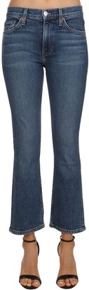RE/DONE Re Done Mini Flare Mid Rise Stretch Denim Jeans