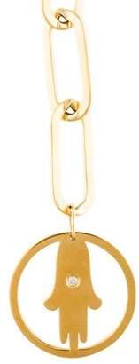 Jennifer Zeuner Jewelry Diamond Casia Pendant Necklace