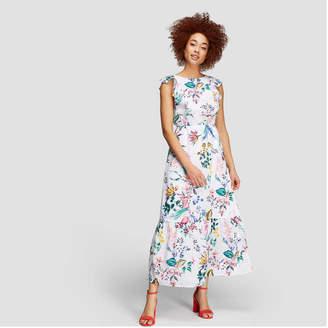 Joe Fresh Women's Ruffled Maxi Dress