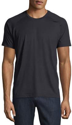 Z Zegna-Techmerino Techmerino Jersey Short-Sleeve T-Shirt, Dark Blue