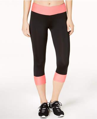 Ideology Rapidry Colorblocked Capri Leggings, Created for Macy's