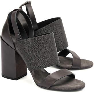 Brunello Cucinelli Leather Sandal