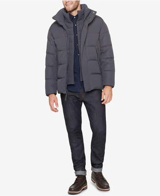 Andrew Marc Men Down Puffer Jacket with Fleece Bib