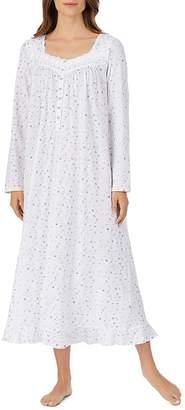 Eileen West Long Sleeve Ballet Jersey Knit Nightgown