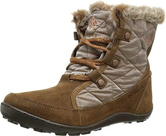 Columbia Women's Minx Shorty Resort Nutme Winter Boot $38.50 thestylecure.com
