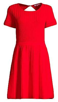 Parker Women's Hamilton Cutout Knit Flare Dress