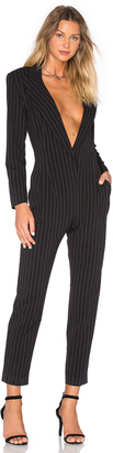Norma Kamali Tapered Leg Jumpsuit $350 thestylecure.com
