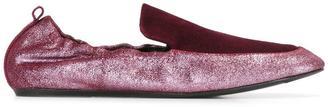 Lanvin loafer vamp ballerinas $570 thestylecure.com