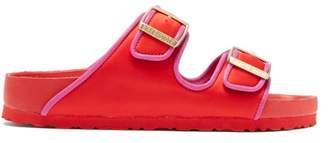 Birkenstock X Il Dolce Far Niente - Arizona Fullex Satin Sandals - Womens - Red