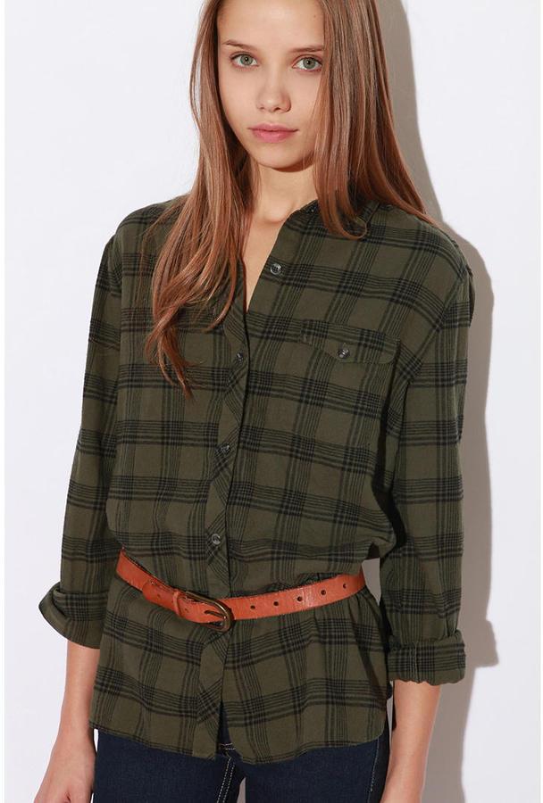 BDG Boyfriend Flannel Shirt