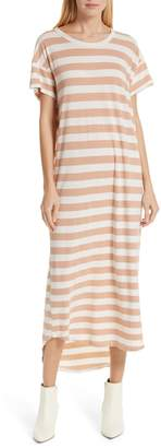 The Great The Boxy Shirttail Midi Dress