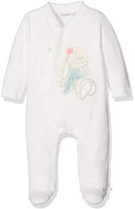 Noukie's Baby Girls Pyjama 1PCS Graphic Long Sleeve Sleepsuit,6M