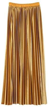 LAGUNAMOON (ラグナムーン) - LAGUNAMOON ベロア ロングプリーツスカート