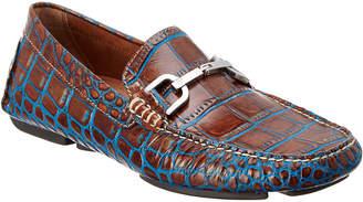 Donald J Pliner Men's Viro Leather Driving Loafer