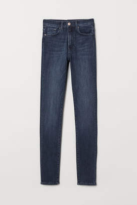 H&M Shaping Skinny High Jeans - Blue